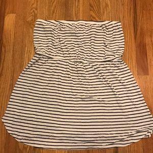 Old Navy XXL strapless striped dress